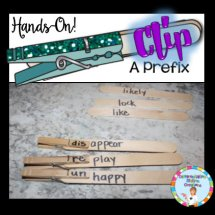 clip a prefix hands on activity