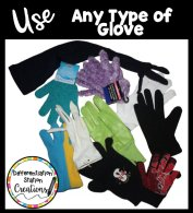 Use any type of glove as a storytelling glove. Grab up child sized dollar store gloves for a center!