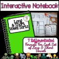 Differentiated activities for long & short vowel sounds. Interactive notebook activities make learning fun!