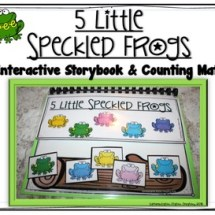Free interactive storybook. Counting mats and storybook.