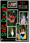 "Make Kissing Hand salt dough ornaments. Adorable ornaments inspired by the book, ""The Kissing Hand""."
