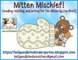 "Mitten Mischief- explore ""The Mitten"" with these engaging activities."