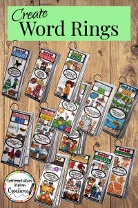word rings portable word walls
