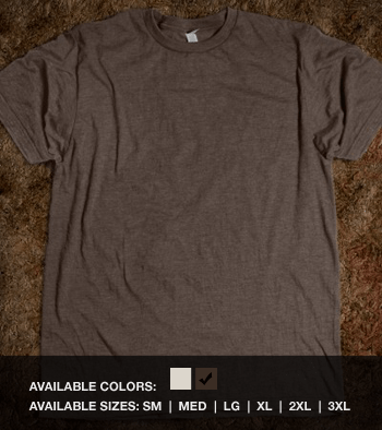 Fitted Recycled Cotton Tee