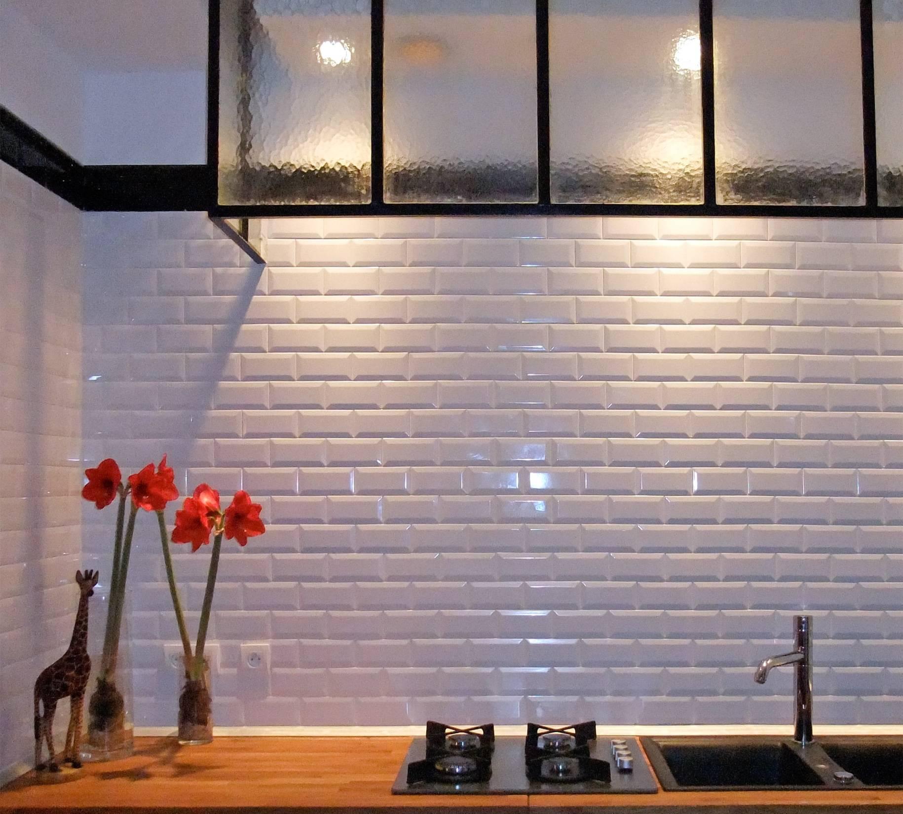 Creation De Credence De Cuisine Avec Carreaux De Ciment Nice Diffusion Ceramique