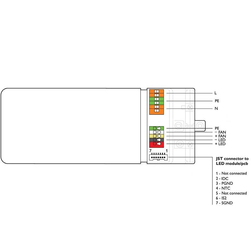 Philips Xitanium LED Driver 50W SH 0.3-1A 62V 230V spot