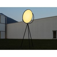 Flos Superloon LED 45W Floor Lamp Black Dimmable 4000lm ...