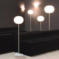 Flos Glo Ball F1 Floor Lamp white glass F3031020 Jasper ...