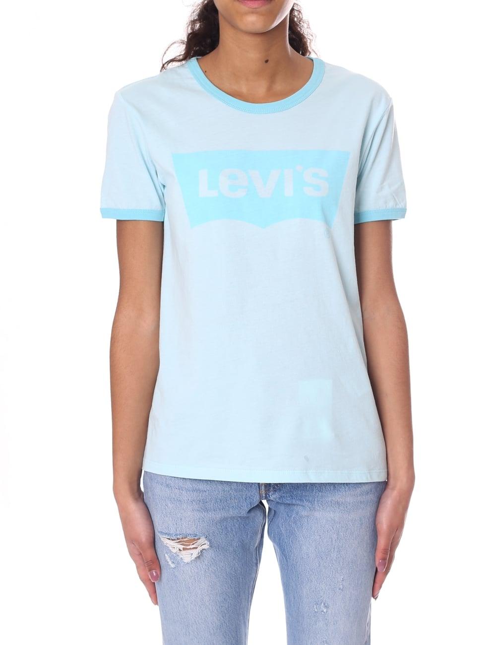 Levis Perfect Ringer Womens Crew Neck Tee