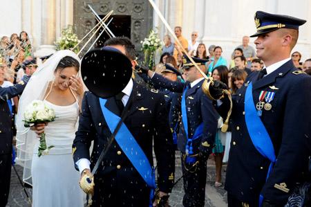 difiorefotografi napoli matrimonio in alta uniforme all