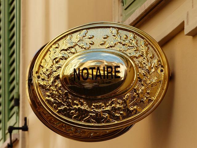 reclamar un deute davant de notari