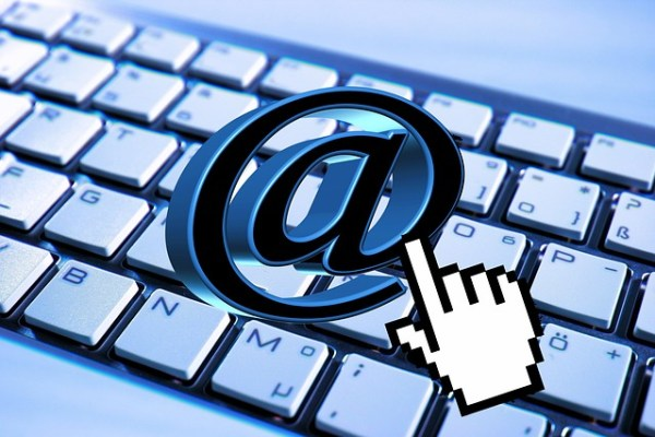 control del email