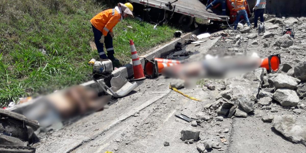 [Video] Accidente deja más de 5 muertos y  6 heridos en vías de Cundinamarca