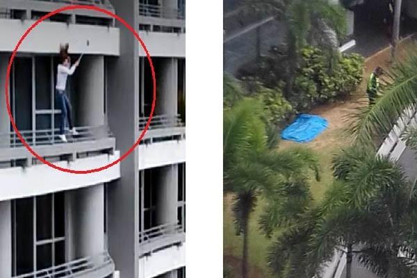 [Video] Mujer cae del piso 27 mientras se tomaba un selfie en Panamá
