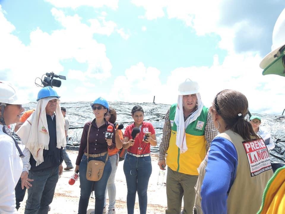 Director de la CAS quedó mal parado con periodistas en Barrancabermeja