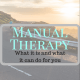 best manual therapy in Bozeman