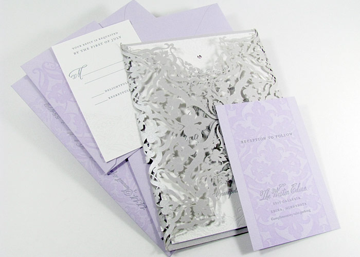 Laser Cut Luxury Wedding Invitations Digby Amp Rose