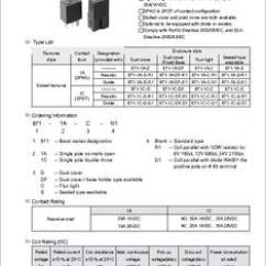 Double Pole Relay Wiring Diagram 2006 Impala Bose Radio 871-1c-c-r1-u01-12vdc Datasheet - Specifications: Manufacturer: Song Chuan ; Product
