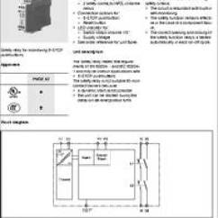 Dpdt Relay Wiring Diagram Vauxhall Zafira Pnoz X7 24vac/dc Datasheet - Specifications: Coil Voltage Vac Nom: 24v ;