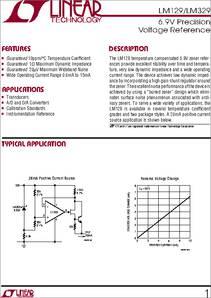 LM329 DATASHEET PDF