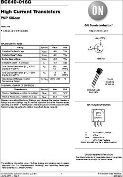 BC640 TRANSISTOR PDF