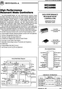 MC34066 datasheet