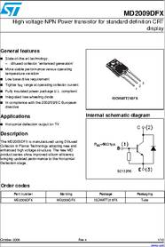 Cara Mengukur Triac : mengukur, triac, Transistor, Horizontal, Md2009dfx