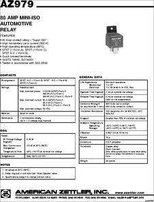 12v Latching Relay Automotive 12V Starter Relay Wiring