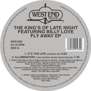 The Kings Of Late Night Featuring Billy Love - Fly Away EP