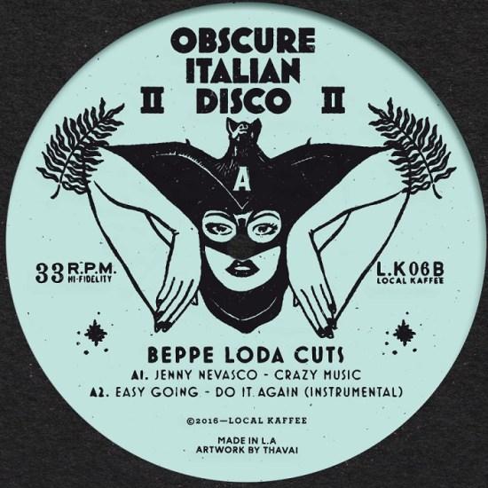 Beppe Loda - Obscure Italian Disco 2