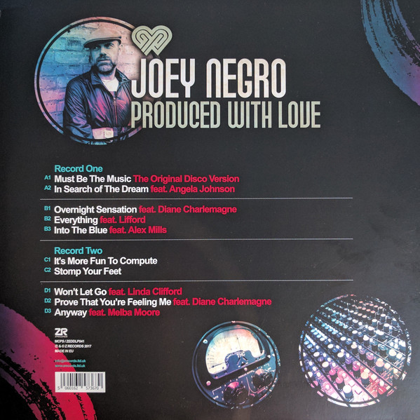 Joey negro produced with love 3x12 album ltd joey malvernweather Images