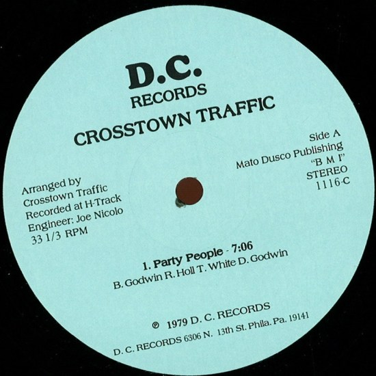 Crosstown Traffic - Party People