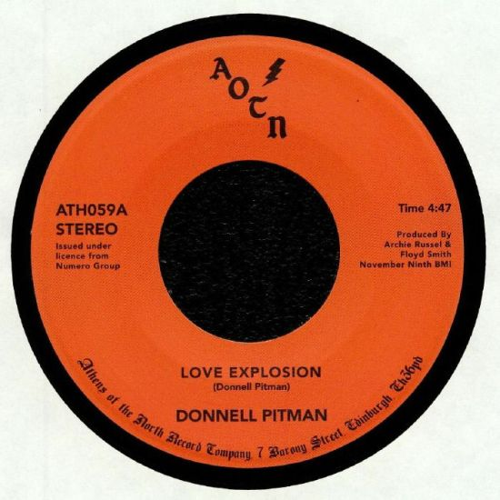 Donnell Pitman - Love Explosion