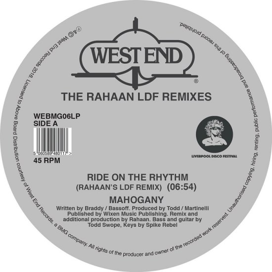 Various Artists - The Rahaan LDF Remixes