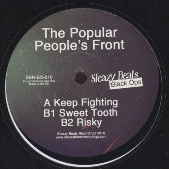 The Popular People's Front – EP