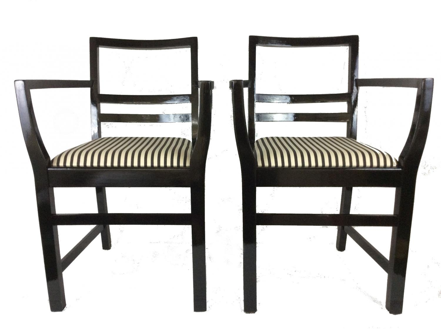 black and white striped chairs wing chair slipcover ikea monochrome in sold recently
