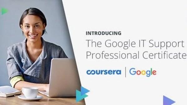 Google সার্টিফিকেট অর্জন করুন ঘরে বসে- Coursera