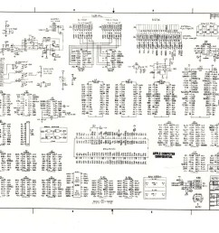 digibarn diagrams original macintosh 512k logic board schematic apple tv wiring diagram apple wiring diagram [ 1816 x 1263 Pixel ]