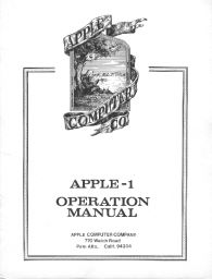 DigiBarn Events: Apple @ 30, 1976: Apple in the Garage