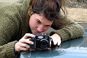 Holding a digital camera