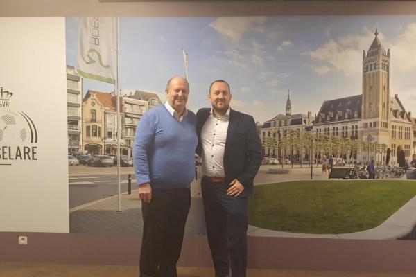 Wim Couck op bezoek bij KSV Roeselare