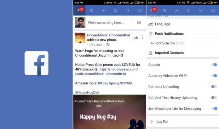 تطبيق Facebook Lite - أكثر التطبيقات تحميلاً