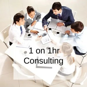 1 on 1hr consulting