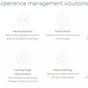 Experience management solutions personalization