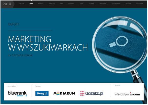 Raport marketing w wyszukiwarkach