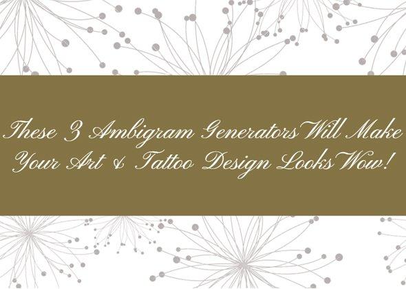 Tamil Tattoo Font Generator