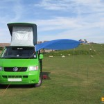 Picture Sx14711 Awning On Van 20100531 Vw T5 Campervan Diy Awning Photo By Digii Eu