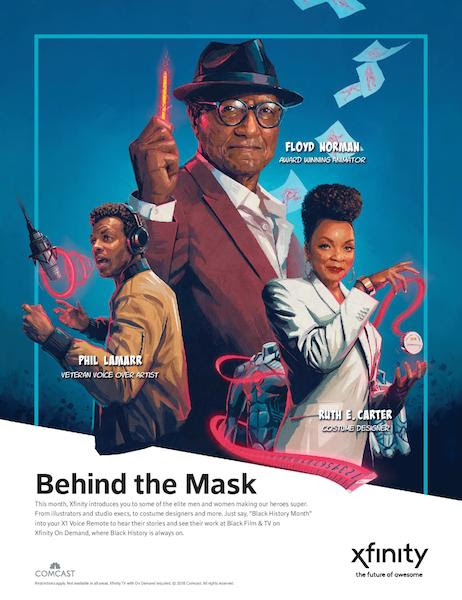 "Comcast Launches Xfinity On Demand Short Film That Highlights African-American Contributions To Popular Superhero Stories ""Groundbreakers: Heroes Behind The Mask"""