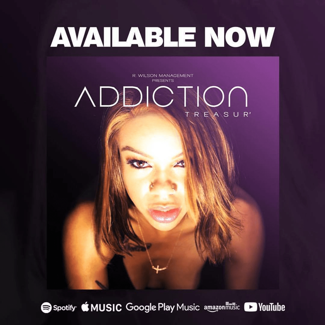 "Treasur' (@IamTreasur) - ""Addiction"" 