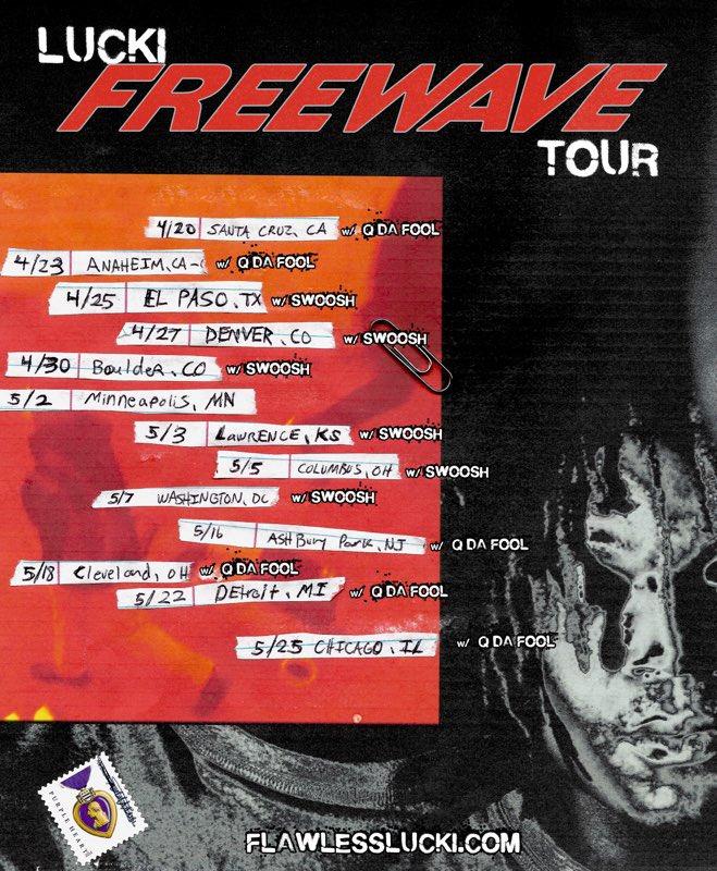 Lucki Announces The Freewave Tour